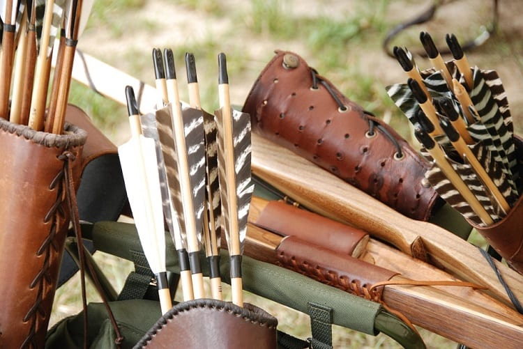 Different Equipment For Archery