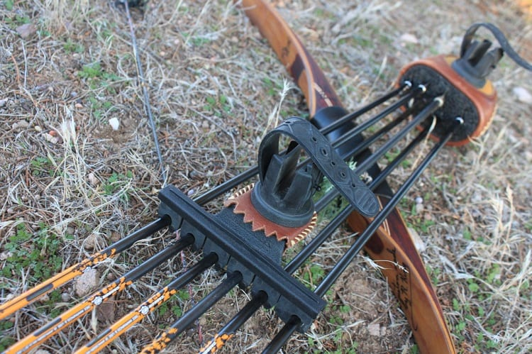 Bow Quiver On Ground