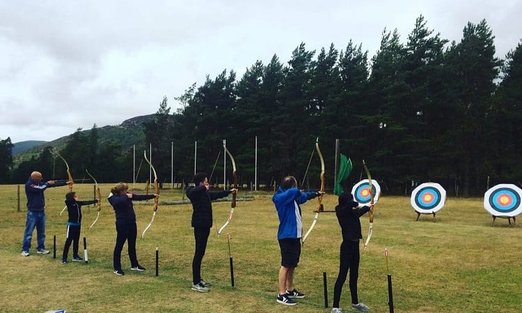 Archery Tournament Outdoor